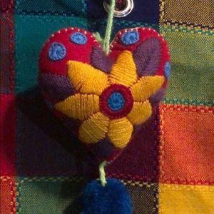 "Beautiful handmade 3"" inche heart"